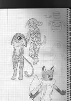 004 anthro characters by figaroo