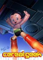 Astroboy: Cereal Geek by kidchuckle