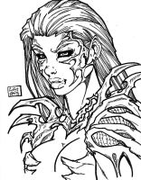 Witchblade commission 16 by Xenomrph