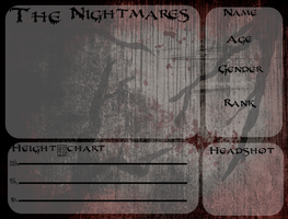 The Nightmares application by EquineLullaby