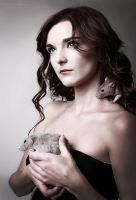 The Lady With Rats by NikolObrova