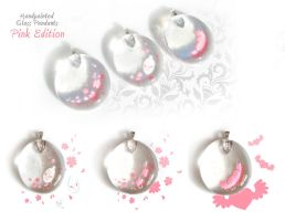 Pink Edition Pendants by zetallis