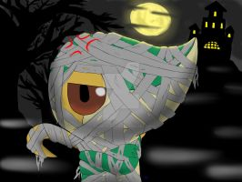 Snivy Halloween by SicamTheSnivy