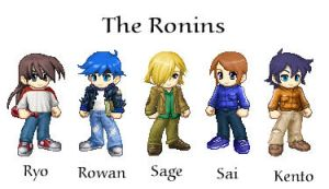 The Ronins by shutenkoma