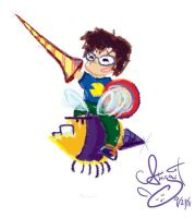 Crayon Benford by SkooterBee