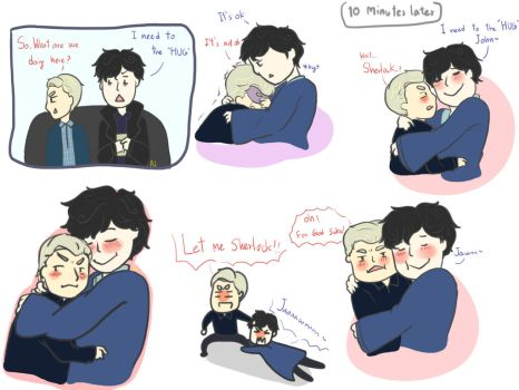 Let him hug you john by AILocked