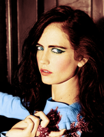 Eva Green colorization by tzuky15