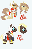 .: Pony Adopts :. Assassins Creed by LighterShadow