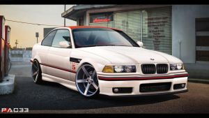 BMW M3 E36 by pacee
