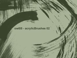 owl05 - acrylicBrushes 02 by owl