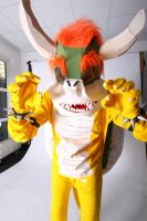 Bowser Cosplay Pic1 by victorymon