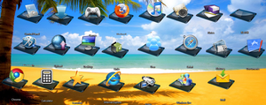 23 Glass Icons 1.3 by ruslan3006