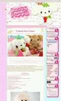 Template Berry Puppy (Blogger) by kawaiiprincess2