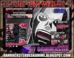 Hidan Theme Windows XP by Danrockster