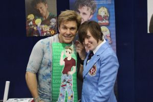 Vic and I (SupaNova Melbourne 2013) by purplegoldfish14
