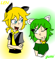 .:Len and Gumi - Love:. by JuLyGoOd
