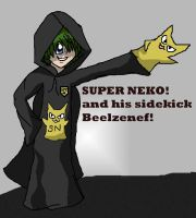OHSHC: Super Neko by MegJ