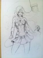 Wonder Woman WIP 03 by Pigbert