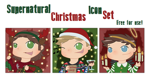 Supernatural Christmas Icons by ArcherVale
