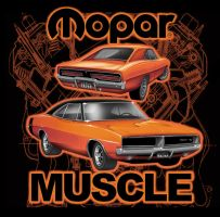 Mopar Charger Muscle by stlcrazy