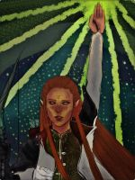 DAI - Inquisitor Tarot card by K-yon