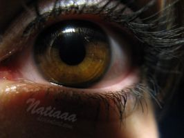 an eye after cry by Natiaaa
