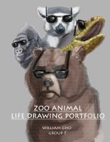 Zoo animal life drawing title page by foofighters111