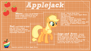 Applejack Design by ikonradx