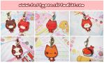 Cute Charms :: Set 1 by MoogleGurl
