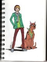 Shaggy And Scooby Hipsters by Reezerr