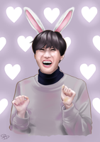 J-Hope - Bunny by ImmortalBerry