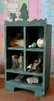 Cascadian Forest Collection cabinet by lupagreenwolf