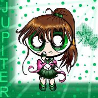 Sailor Jupiter puffed by star-rocker