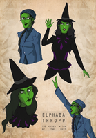 The Wicked Witch of the West! by hahahaida