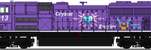 Crystal Empire (EN Hertiage Unit)[SD70ACe] by LR-Studios
