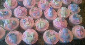 Baby Shower Cupcakes For Girls by Lucrecia1511