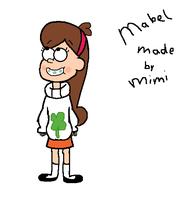 Mabel from Gravity Falls Made by me by Alsjemenoubrony