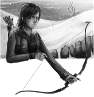 -The Last of Us- Ellie (Winter) by Hagazusa
