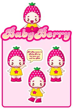 Baby Berry by pinkland