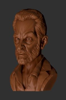 Logan(clay sketch) by shaungent