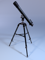 3D Model: Telescope by ark4n