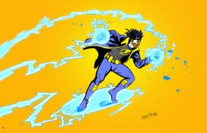 OMEGA SKETCH: Static Shock by gavinsmith