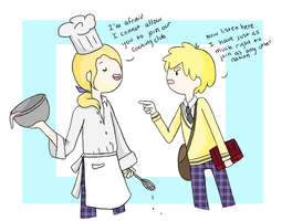 World Academy Cooking Club by nerdymoosechild