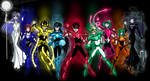 Saint Seiya as New Guardians by LucianoVecchio