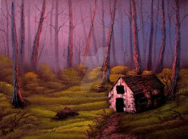 Cabin in the Woods REVISITED by twinket
