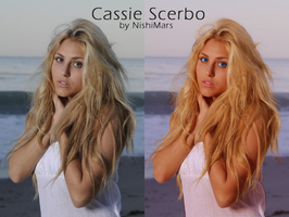 Cassie Scerbo coloring by SaidaGP