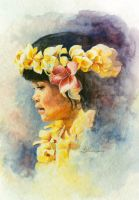 Hawaiian Beauty by KathleenCasey