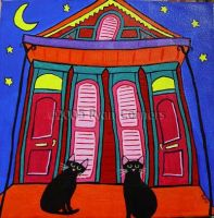 Stray Cats Of New Orleans by kilkennycat