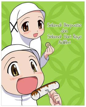 Ramadhan and Eid Al-Fitr by maskawaih
