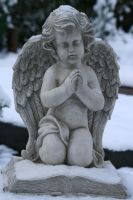 Angel statue stock 12 by Malleni-Stock